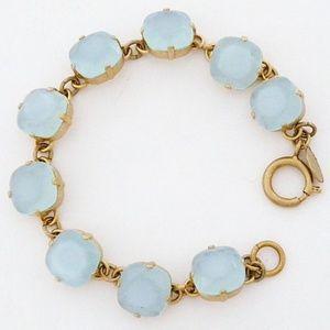 Catherine Popesco Crystal Bracelet, Blue Ice 12mm